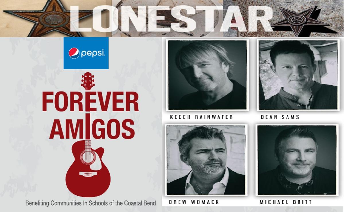 2021 Forever Amigos - Lonestar poster